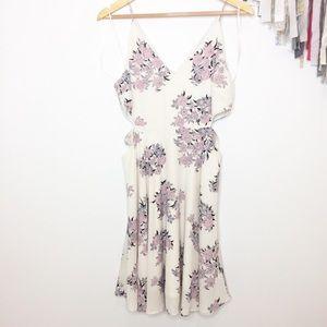 NWOT Sienna Sky party dress floral pattern